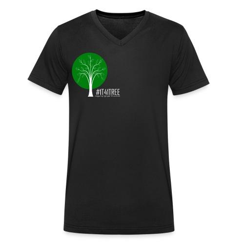 1T41Tree - ein verk. Shirt = ein Baum - Männer Bio-T-Shirt mit V-Ausschnitt von Stanley & Stella