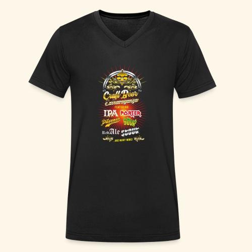Bier-Shirt Craft Beer Extravaganza - Männer Bio-T-Shirt mit V-Ausschnitt von Stanley & Stella