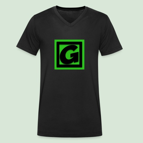 G-team Logo - Men's Organic V-Neck T-Shirt by Stanley & Stella