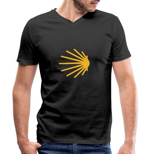 jakobsmuschel klassisch - Männer Bio-T-Shirt mit V-Ausschnitt von Stanley & Stella