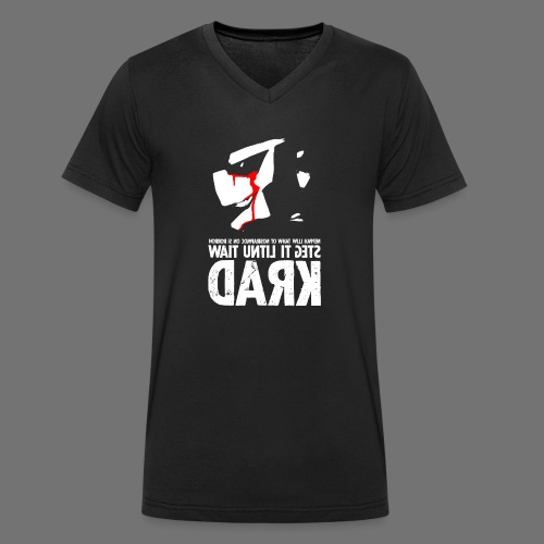 horrorcontest sixnineline - Økologisk Stanley & Stella T-shirt med V-udskæring til herrer