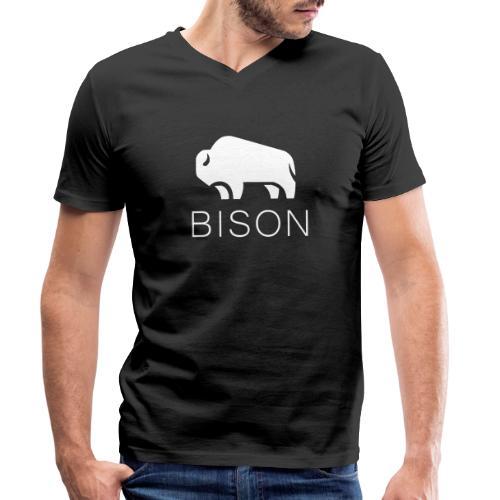 BISON - BULL - Männer Bio-T-Shirt mit V-Ausschnitt von Stanley & Stella