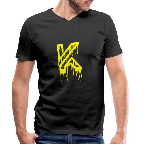 Dripping - T-shirt bio col V Stanley & Stella Homme