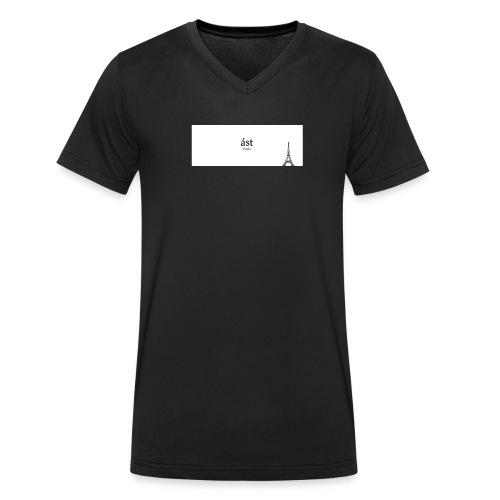 Eifelturm - Männer Bio-T-Shirt mit V-Ausschnitt von Stanley & Stella