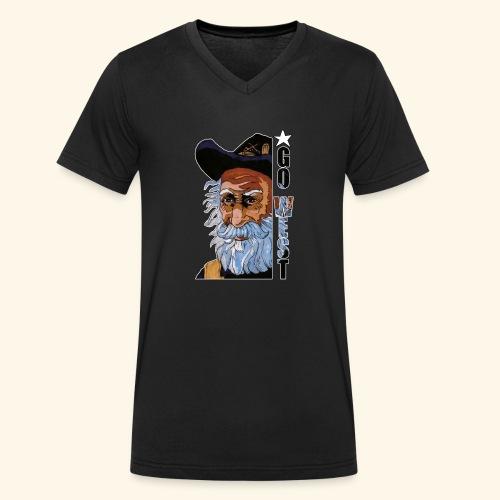 Go West - T-shirt bio col V Stanley & Stella Homme