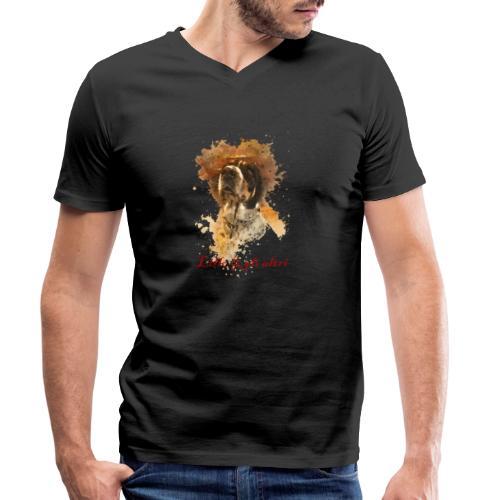 Lillo e gli altri - T-shirt ecologica da uomo con scollo a V di Stanley & Stella