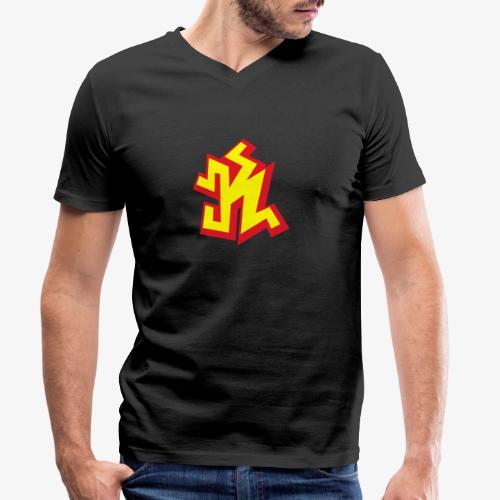 k png - T-shirt bio col V Stanley & Stella Homme
