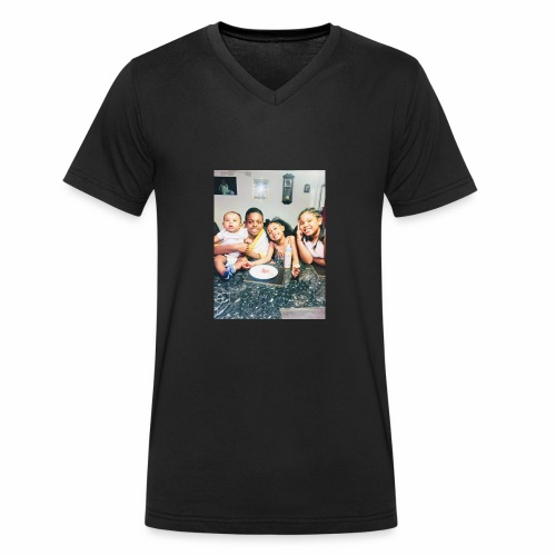 The Isabelle's - Men's Organic V-Neck T-Shirt by Stanley & Stella