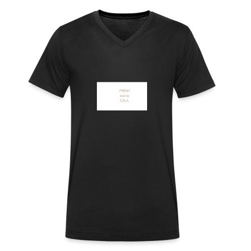 fresh wie ne cola - Männer Bio-T-Shirt mit V-Ausschnitt von Stanley & Stella