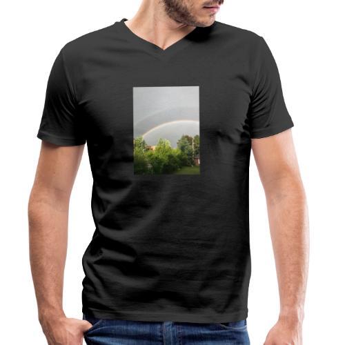 Arcobaleno - T-shirt ecologica da uomo con scollo a V di Stanley & Stella