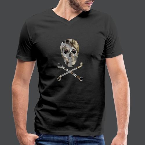 Der Schrauber! - Männer Bio-T-Shirt mit V-Ausschnitt von Stanley & Stella