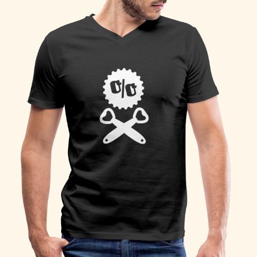 Bier T Shirt Design Piratenflagge - Männer Bio-T-Shirt mit V-Ausschnitt von Stanley & Stella