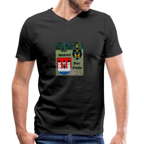 disctrictpride - Männer Bio-T-Shirt mit V-Ausschnitt von Stanley & Stella