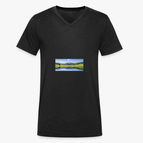 A9F057CE 0239 4C12 A5E4 D5544A3B7027 - Männer Bio-T-Shirt mit V-Ausschnitt von Stanley & Stella