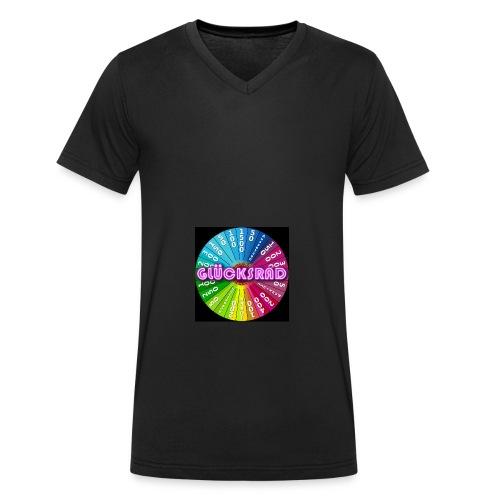 Glücksrad Fanartikel - Männer Bio-T-Shirt mit V-Ausschnitt von Stanley & Stella