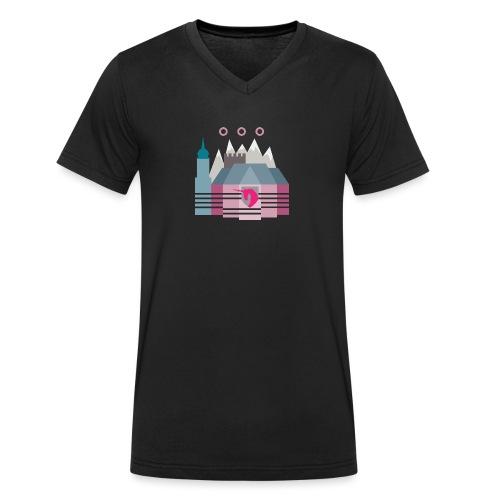 Bludenz - Männer Bio-T-Shirt mit V-Ausschnitt von Stanley & Stella