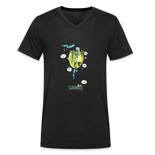 T-shirt Maison de L'aventure - T-shirt bio col V Stanley & Stella Homme