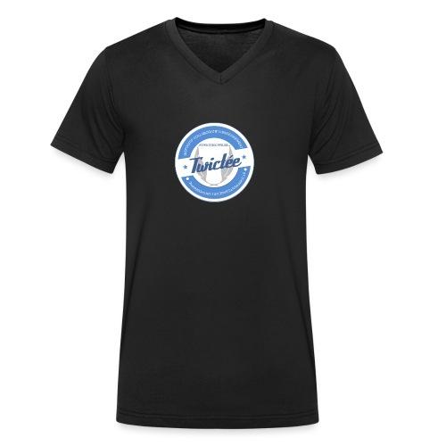 logo twictee - T-shirt bio col V Stanley & Stella Homme