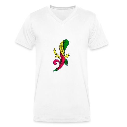 Asso bastoni - T-shirt ecologica da uomo con scollo a V di Stanley & Stella