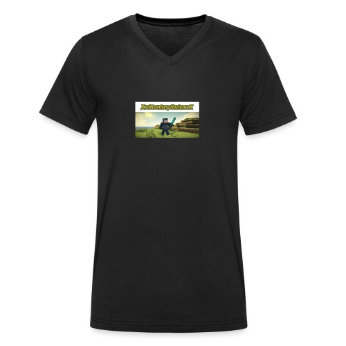 XxMonkeyRulerxX New Design - Men's Organic V-Neck T-Shirt by Stanley & Stella