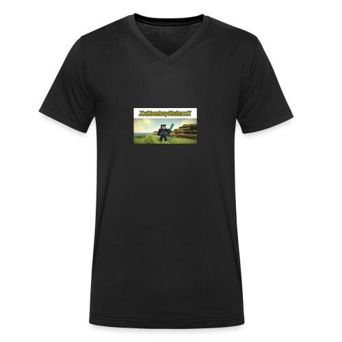 XxMonkeyRulerxX New Design - Men's Organic V-Neck T-Shirt by Stanley & Stella