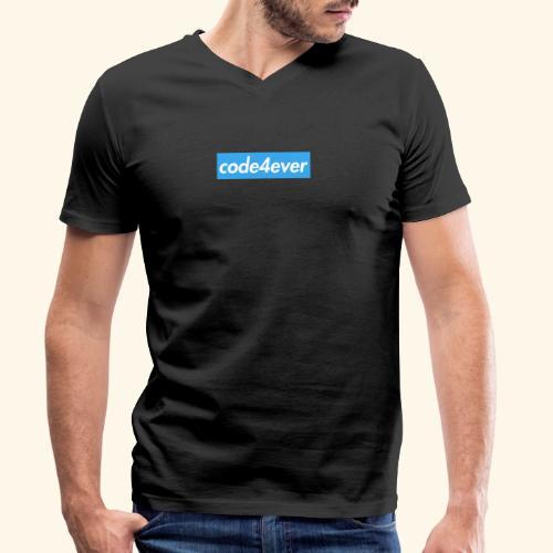 Code4ever - Men's Organic V-Neck T-Shirt by Stanley & Stella