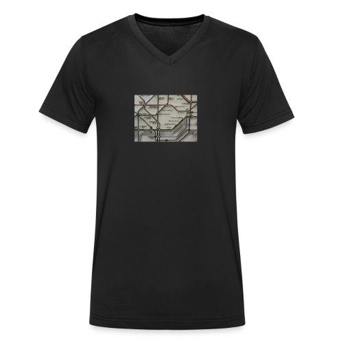 tube - Camiseta ecológica hombre con cuello de pico de Stanley & Stella