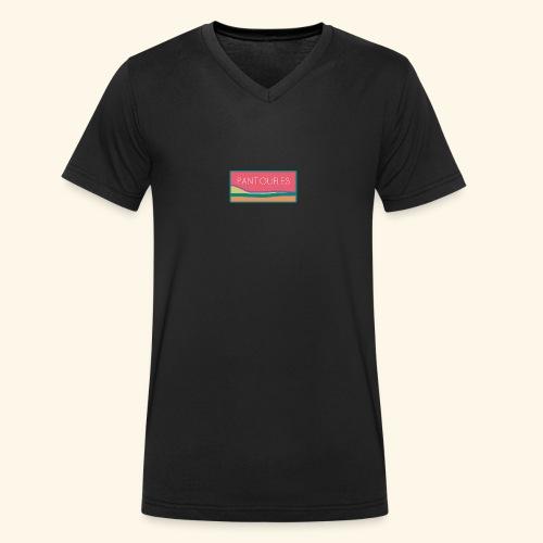 pantoufles 2 - T-shirt bio col V Stanley & Stella Homme