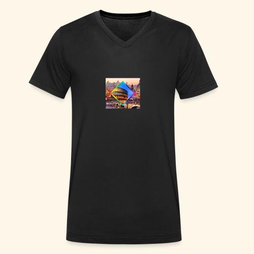 Rome - T-shirt ecologica da uomo con scollo a V di Stanley & Stella