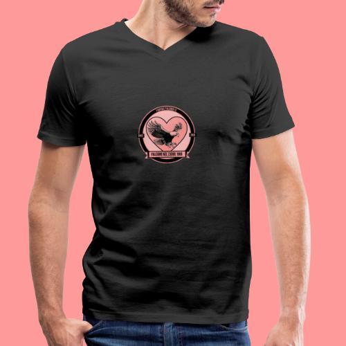 Palermo Nel Cuore 1900 - T-shirt ecologica da uomo con scollo a V di Stanley & Stella