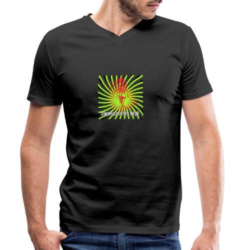 DSW logo - Ekologisk T-shirt med V-ringning herr från Stanley & Stella