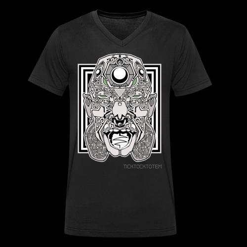 Mr. Speaker Face - Men's Organic V-Neck T-Shirt by Stanley & Stella