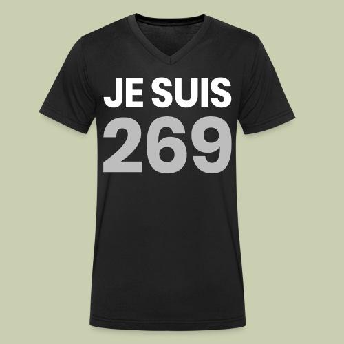 Je suis 269 - Männer Bio-T-Shirt mit V-Ausschnitt von Stanley & Stella
