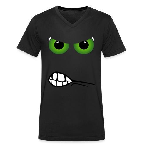 monster - T-shirt bio col V Stanley & Stella Homme