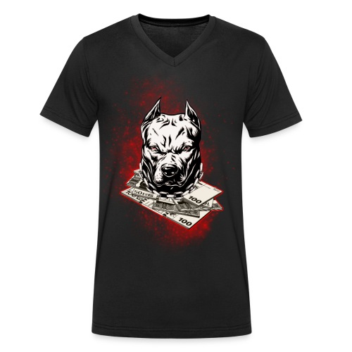 bullrot - T-shirt bio col V Stanley & Stella Homme