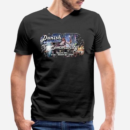 Dansih community - fivem2 - Økologisk Stanley & Stella T-shirt med V-udskæring til herrer