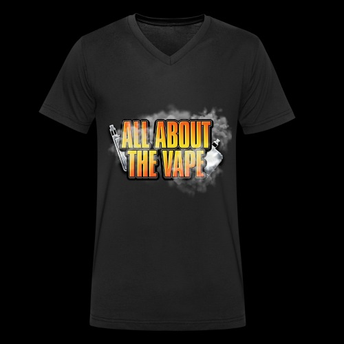 ALL ABOUT THE VAPE - Men's Organic V-Neck T-Shirt by Stanley & Stella