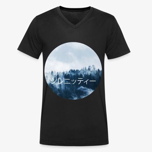 Serenity - Ekologisk T-shirt med V-ringning herr från Stanley & Stella