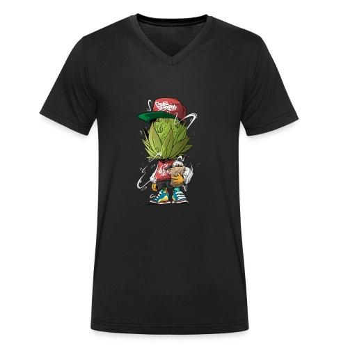 3 Budshead - Männer Bio-T-Shirt mit V-Ausschnitt von Stanley & Stella