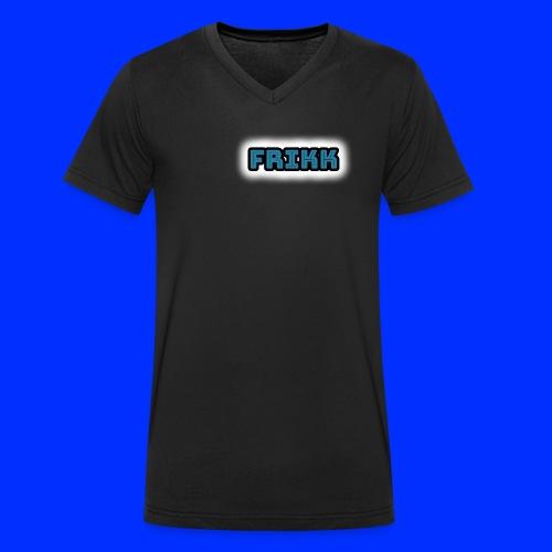FRIKK MERCH!! - Økologisk T-skjorte med V-hals for menn fra Stanley & Stella