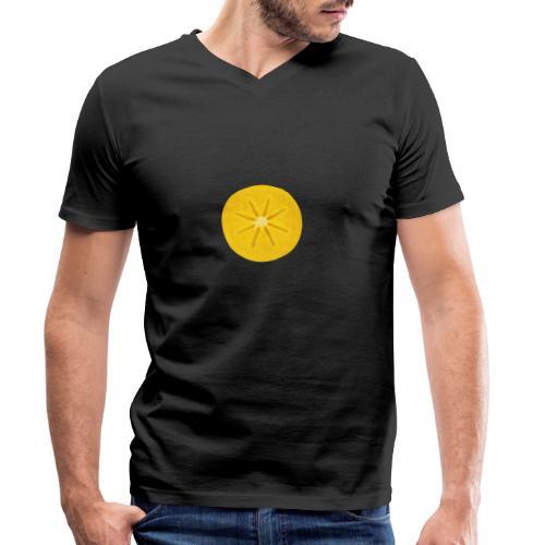 Kaki - Männer Bio-T-Shirt mit V-Ausschnitt von Stanley & Stella