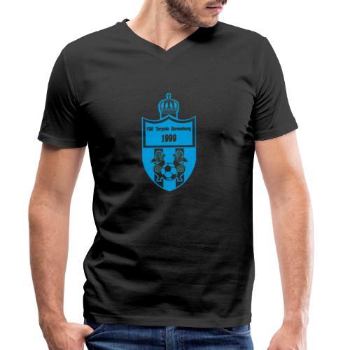 torpedo wappen blau trans png - Männer Bio-T-Shirt mit V-Ausschnitt von Stanley & Stella
