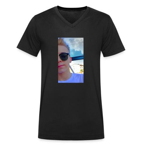 Robin - Ekologisk T-shirt med V-ringning herr från Stanley & Stella