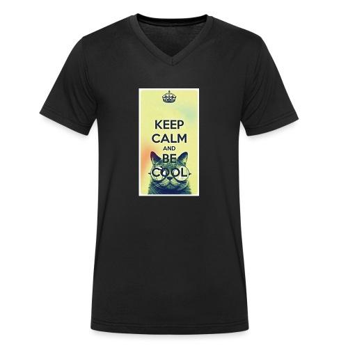 COOL - Mannen bio T-shirt met V-hals van Stanley & Stella