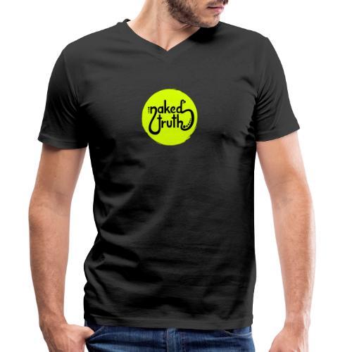naked truth - Männer Bio-T-Shirt mit V-Ausschnitt von Stanley & Stella