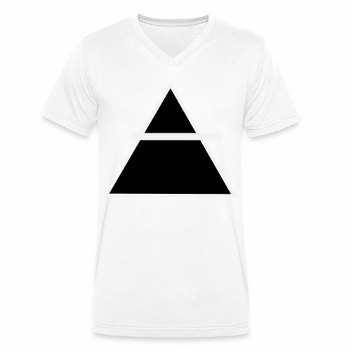 ALKIMASTA LOGO (THE AIR) - T-shirt bio col V Stanley & Stella Homme