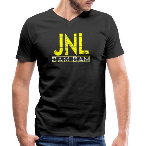 JelloNL - Mannen bio T-shirt met V-hals van Stanley & Stella