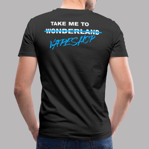 Vapeland - Männer Bio-T-Shirt mit V-Ausschnitt von Stanley & Stella