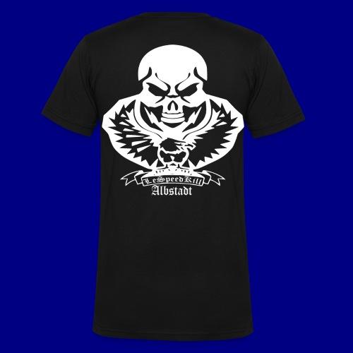 LeSpeedKill-Albstadt - Männer Bio-T-Shirt mit V-Ausschnitt von Stanley & Stella