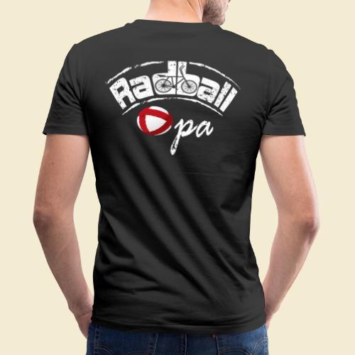 Radball   Opa - Männer Bio-T-Shirt mit V-Ausschnitt von Stanley & Stella